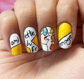 Dexter nail art…