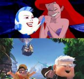 Face-swapping Disney characters…