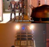 Daleks vs. Cybermen…