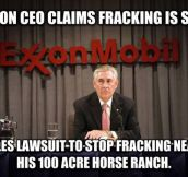 This is 'fracking' unfair…