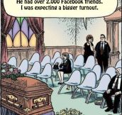 What I expect funerals in the near future to be…
