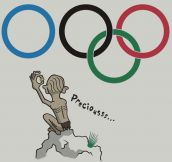 Gollum goes to the Olympic games…