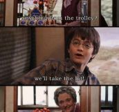 Greedy Harry Potter…