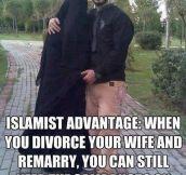 Islamist advantage…