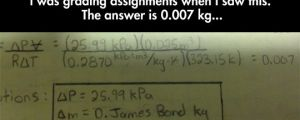 And the cool teacher marked it as correct…