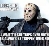 Jason knows what's up…