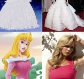 I'm convinced that Jen wants to be a Disney character…
