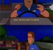 Hank Hill visits Colorado…