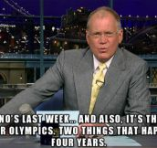 Letterman nails it…