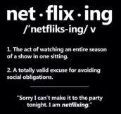 On Netflix…