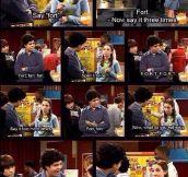 The fort prank…