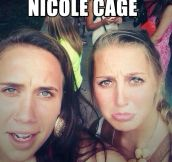 Female Nicolas Cage…
