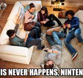 Nintendo lies…