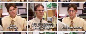 One of the best scenes from The Office…