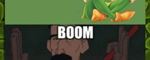 Another childhood ruined…