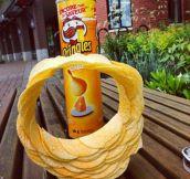 Pringles stack ring…