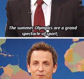A grand spectacle of sport…