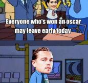 The torment will never end Leo…