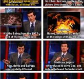 That's no Satan, is Balrog…
