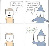 Magical stereotype…