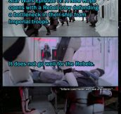 Why Stormtroopers always miss…