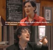 Black Books moment…