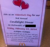 For those who don't have Valentine's Day plans yet…
