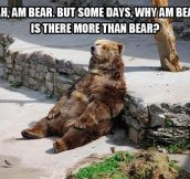 Thinking about the unbearable…