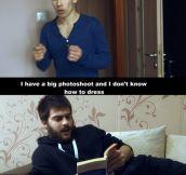Big photoshoot…