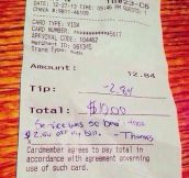 I don't think that's how tips work…