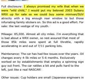 Man doesn't want to sell his Subaru…