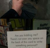 This birthday card is genius…