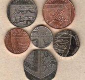 England pennies…