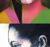 Face paint is a form of art…