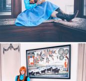 Frozen cosplay…