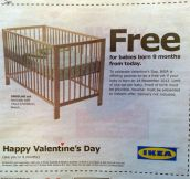 Well played Ikea…