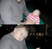 Children always look up to their parents…