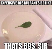 Fancy dinner…