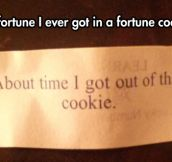 How fortunate…