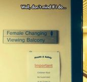 Hospital sign placement fail…