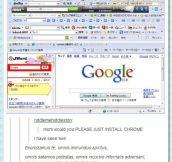 Just install Chrome…