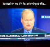 Seems like a shortage of news…