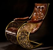 Antique rocking chair…
