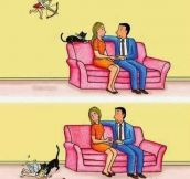 So this is why people with cats never find true love…