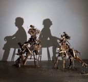 Incredible shadow art…