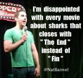 Sharknado was pure art…