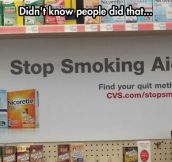 That's why you snort it…