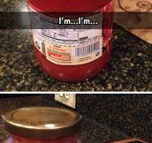Tomato sauce problems…