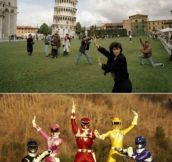 Go Go tower rangers!