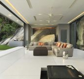 Sumptuous House on the Rocks